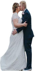 Wedding cutout