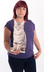 Pet cardboard cutouts