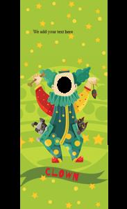 Clown Peeky