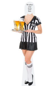 Female Referee Body