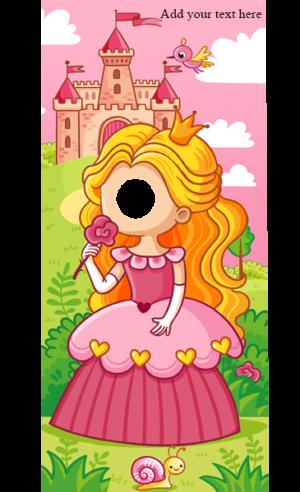 Princess and Castle Peeky