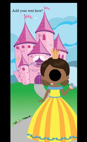 Princess with Bird Peeky