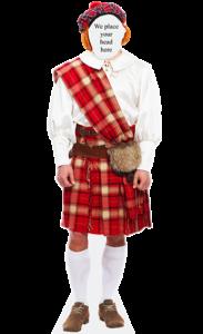 Scottish Man Body